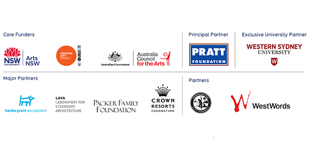 Childrens festival core funders and major partners